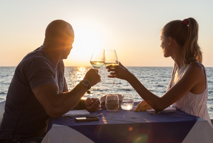 Candlelight Dinner on the Beach – Lobster Menu